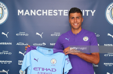 Manchester City break transfer record to sign Rodri