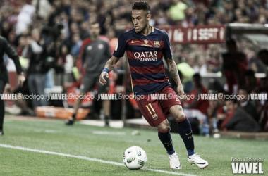 El jugador brasileño durante su etapa en el FC Barcelona / Foto: Rodri J. Torrellas (VAVEL.com)