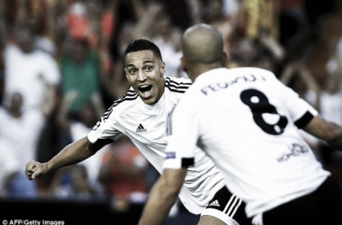 Rodrigo Moreno, ex-Benfica, marcou aos 4' o primeiro da partida