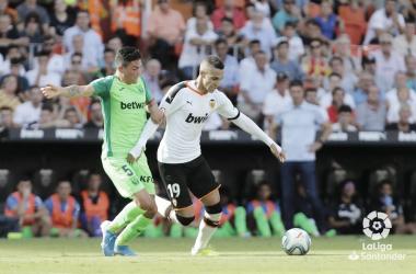 Valencia y Leganés afrontan el encuentro con varias bajas importantes