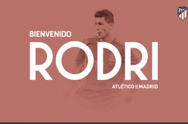 El Atlético oficializa el fichaje de Rodri
