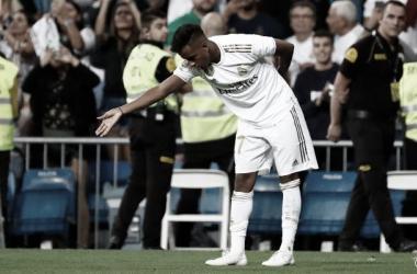 """Rodrygo: """"Siempre que marco con la camiseta del Real Madrid es una emoción"""""""