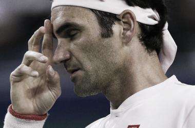 Con su cuota de magia, Federer sorteó el escollo de Bautista Agut. Foto: ATP.