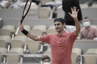 Roger Federer Foto Roland Garros