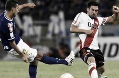 El Chino tuvo una actuación consagratoria ante Cruzeiro en el Mineirao (Foto: Goal).