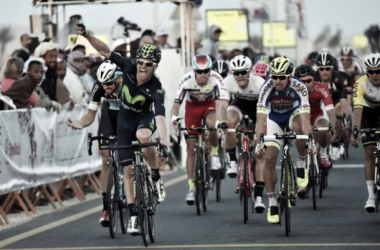 Rojas won in Qatar as the weather took its toll on the peloton. (Image: Cycling Weekly)