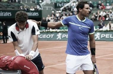 Nadal en una nueva semifinal de Roland Garros. Foto: La Nación