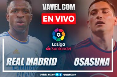 Real Madrid vs Osasuna EN VIVO: ¿cómo ver transmisión TV online en LaLiga?