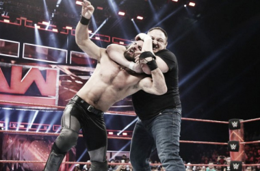 Rollins could miss WrestleMania. Photo- WWE.com