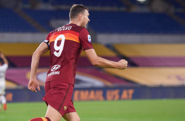 Serie A - Manita al Benevento: la Roma ritrova Dzeko e ingrana la seconda (5-2)