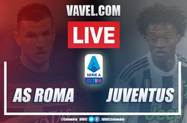 Resumen AS Roma vs Juventus por la Serie A (2-2): 90 minutos para Cuadrado