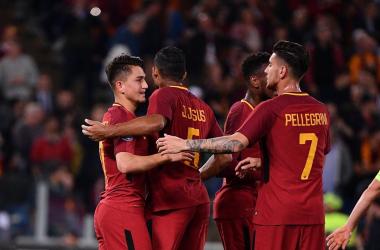 Roma-Genoa 2-1, Under e un autogol di Zukanovic fanno sorridere Di Francesco