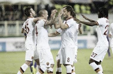 Com gol de Nainggolan, Roma vence Fiorentina fora de casa