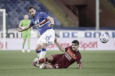 Sampdoria 2 a 1 Roma (Serie A / Divulgação)