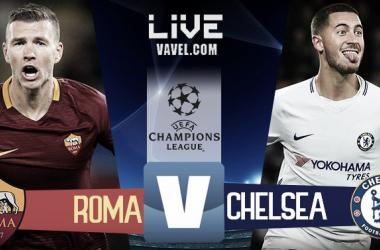 Risultato Roma - Chelsea in diretta, LIVE Champions League 2017/18 - El Shaarawy(2), Perotti! (3-0)