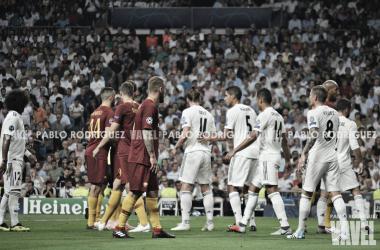 Roma vs Real Madrid en el pasado partido de ida I Foto: Pablo Rodríguez (VAVEL)