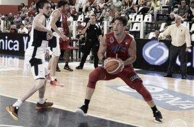 Nicolás Romano, con 15 puntos, fue la figura del encuentro (Imagen: La Liga Contenidos)