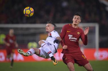 Serie A - Fazio allo scadere, la Roma supera il Cagliari di misura