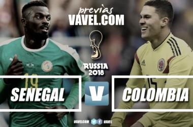 Previa Senegal - Colombia. | Fotomontaje: Romer Pérez (VAVEL)