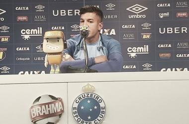 """Romero garante foco do Cruzeiro e pede tranquilidade: """"Temos que ser fortes psicologicamente"""""""