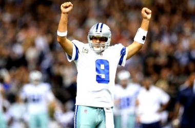 Tony Romo Leads Last-Minute Winning Drive In Dallas Cowboys' 27-26 Win Over New York Giants