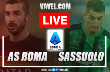 Goals and Highlights: AS Roma 2-1 Sassuolo  in Serie A 2021