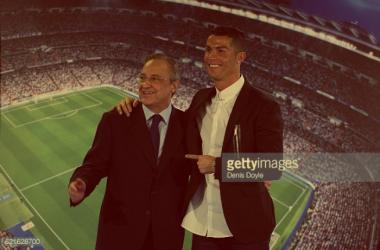 Palavras de Florentino Pérez levam a uma mudança na decisão de Ronaldo