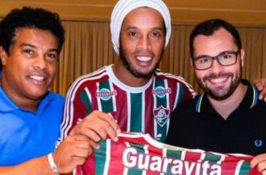 Dinho-Fluminense, e lo spettacolo continua