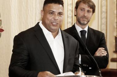 Ronaldo, al Bernabéu como blanquivioleta