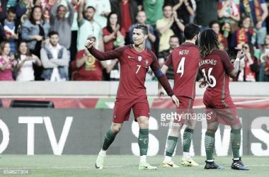 Portugal joga contra a Letónia.