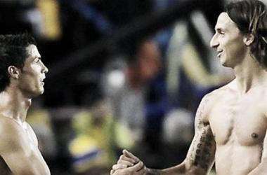 Ibrahimovic y Cristiano por un lugar en el próximo Mundial