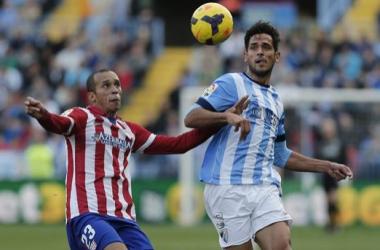 Málaga CF - Atlético de Madrid: puntuaciones del Málaga, jornada 18