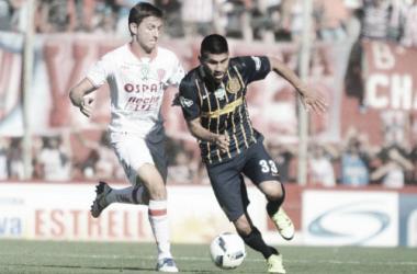 El equipo rosarino no pudo lograr buenos resultados cuando le tocó enfrentar a Unión. Foto: A puro gol.