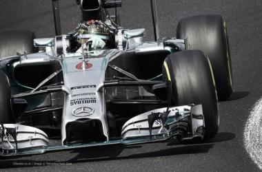 Líder do campeonato, Rosberg, lidera primeiro treino na lendária pista belga (Foto: Divulgação)