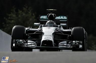 Nico Rosberg ha marcado el mejor tiempo en el trazado de Spa   Foto: GPupdate.