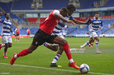 Reading vs Rotherham at the Madejski in October |  (Photo by Mark Leech/Offside/Offside via Getty Images)