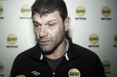 Roverano llegó a Alianza Lima como DT interino, tras la dimisión de Guillermo Sanguinetti (Foto: rpp.com.pe)
