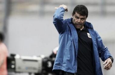 Roverano llegó a Alianza Lima como DT interino en mayo. (FOTO: elcomercio.pe)
