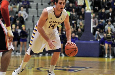 Sam Rowley scored a game-high 16 points to help lead Albany to their 13th straight victory with a 65 - 59 win over N.J.I.T. on Friday night. (Source: Albany Athletics)