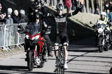 Erick Rowsell will ride the Tour de Yorkshire for Madison-Genesis. (Image: British Cycling)