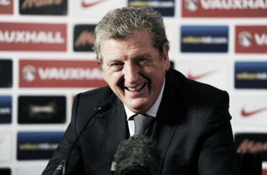 Roy Hodgson feeling positive ahead of the World Cup in Brazil.