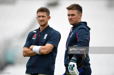 Joe Denly and Jason Roy are two examples of England's muddled thinking that has led to their Ashes defeat (Getty Images/Gareth Copley)