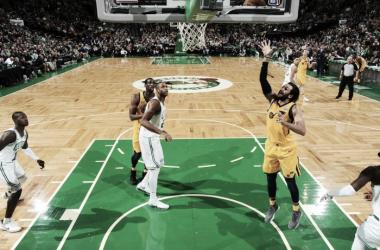 Ricky Rubio, 22 punti contro i Celtics. Fonte: NBA.com/Twitter