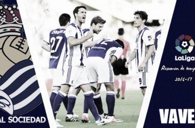 Resumen temporada Real Sociedad 2016/17: pasaporte directo a Europa