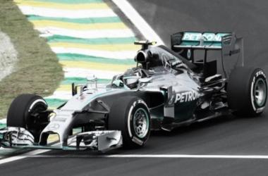 Rosberg esteve perfeito neste GP do Brasil foto:Mercedes
