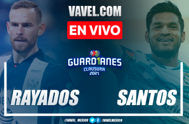 Goles y resumen del Rayados Monterrey 1-1 Santos Laguna en Liguilla Liga MX 2021