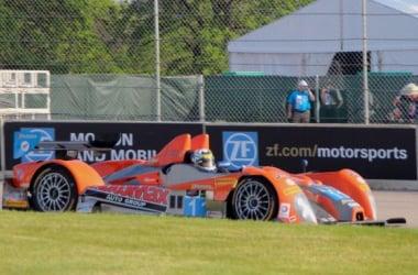The No. 11 RSR Racing ORECA FLM09 at Detroit. Photo: Vickie Miller / Motor Week Live