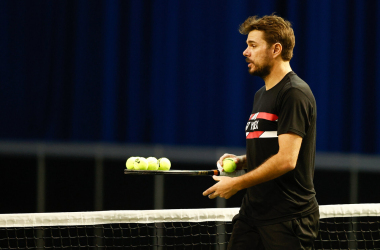 Wawrinka practicing in Rotterdam/Photo: Pim Waslander/ABN AMRO World Tennis Tournament