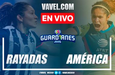 Resumen y goles: Monterrey 3-2 América en Semifinal de Liga MX Femenil 2020