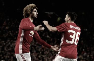 Dos de los posibles fichajes del Valencia I Foto: Manchester Utd